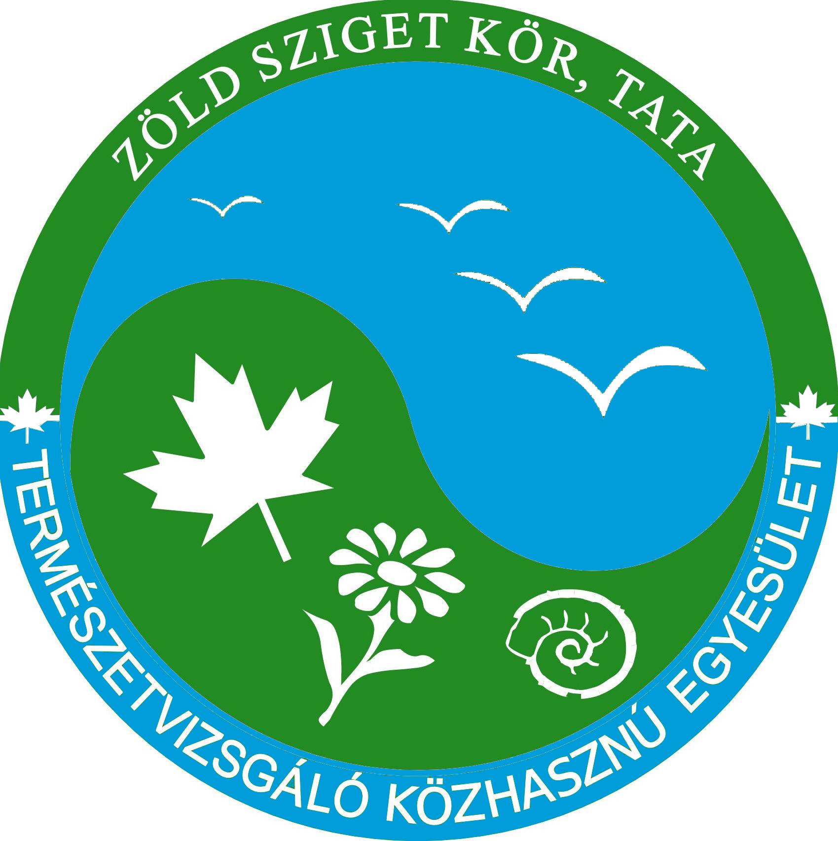 Zöld Sziget Kör Természetvizsgáló Közhasznú Egyesület logója